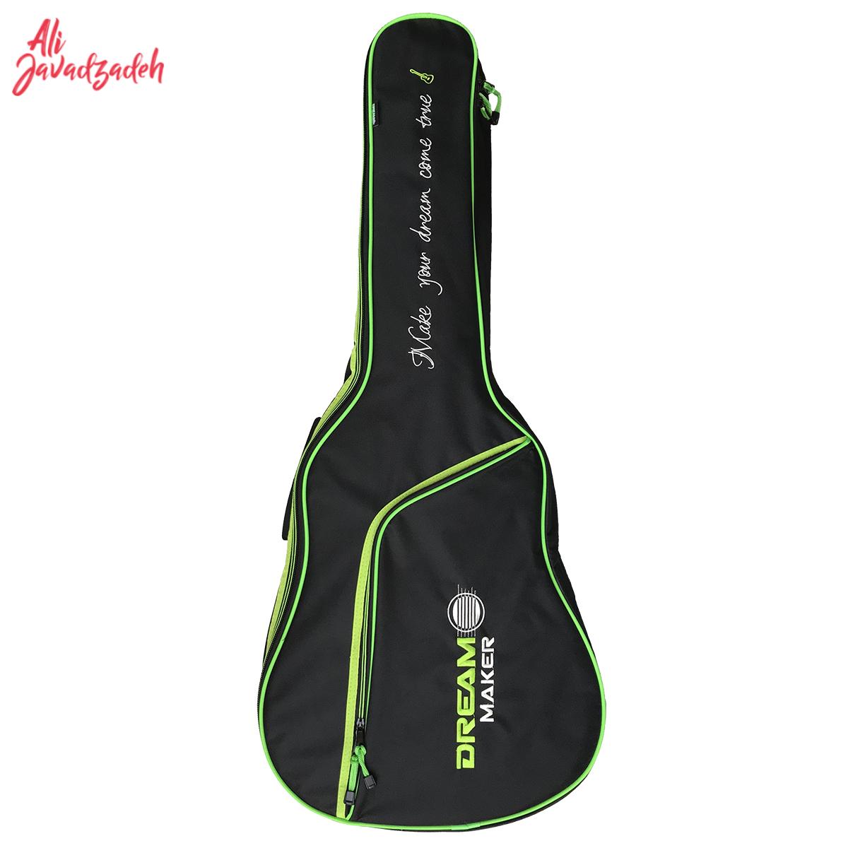 سافت کیس گیتار دریم میکر مدل T450 Green