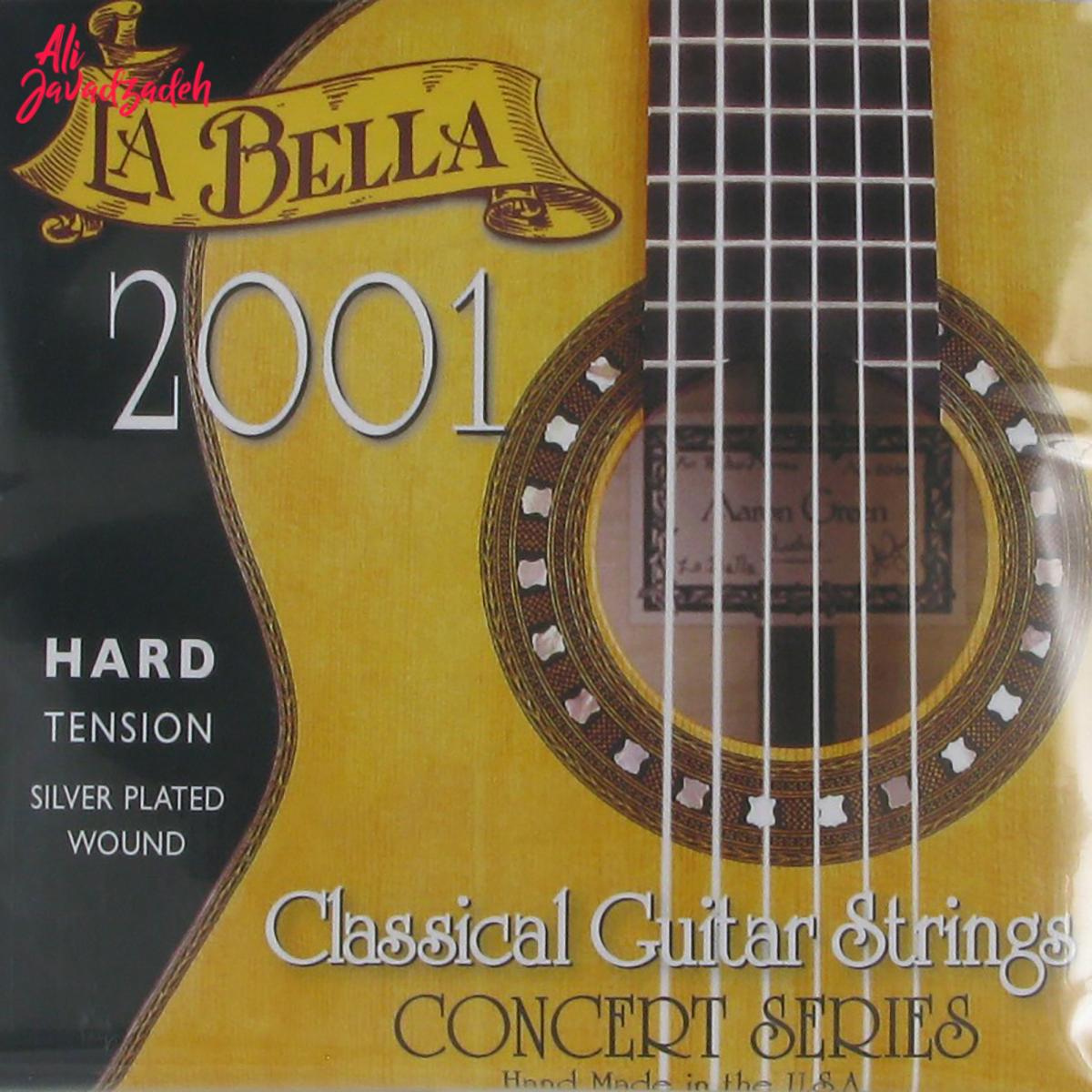 سیم گیتار کلاسیک لابلا مدل 2001H Hard