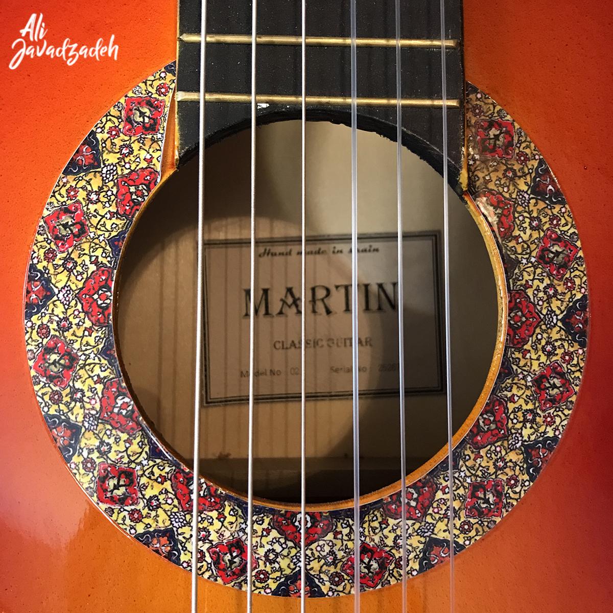 گیتار کلاسیک مارتین مدل SL-55-1