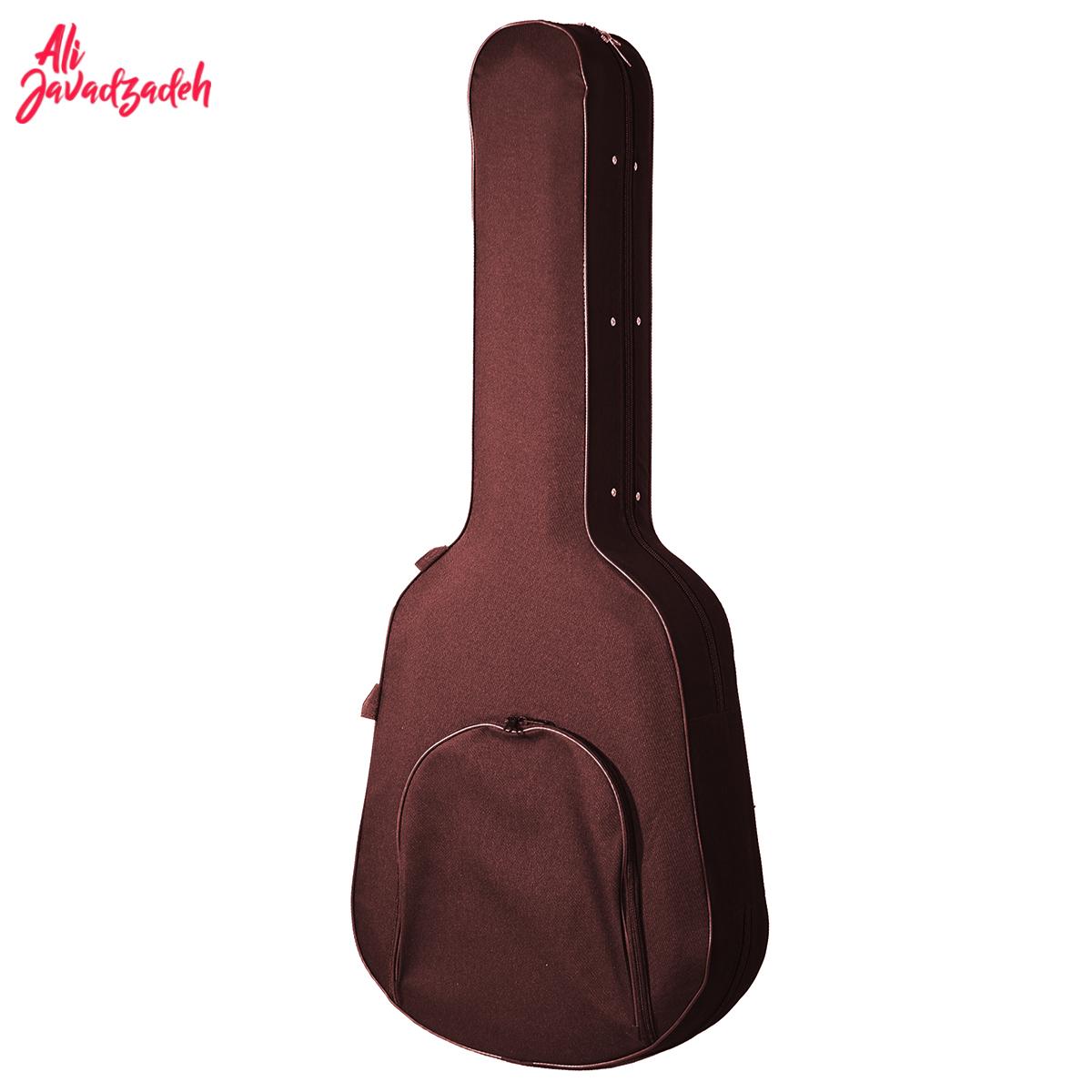 هارد کیس گیتار یونولیت پارچهای مدل Brown