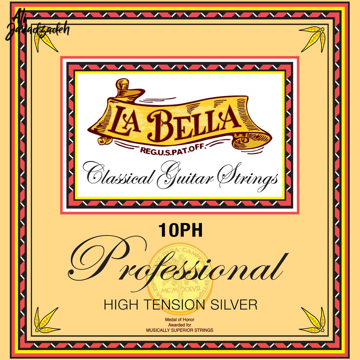 سیم گیتار کلاسیک لابلا مدل 10PH Professional