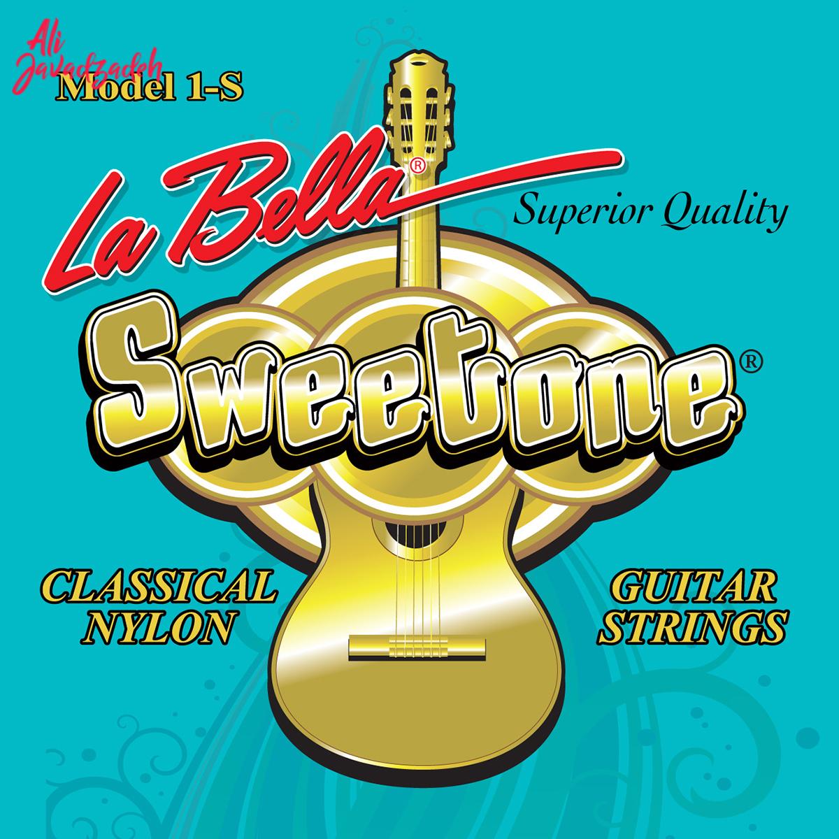 سیم گیتار کلاسیک لابلا مدل 1S Sweetone