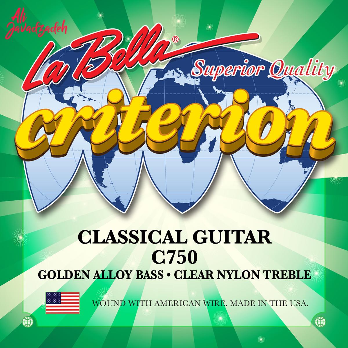 سیم گیتار کلاسیک لابلا مدل C750 Criterion