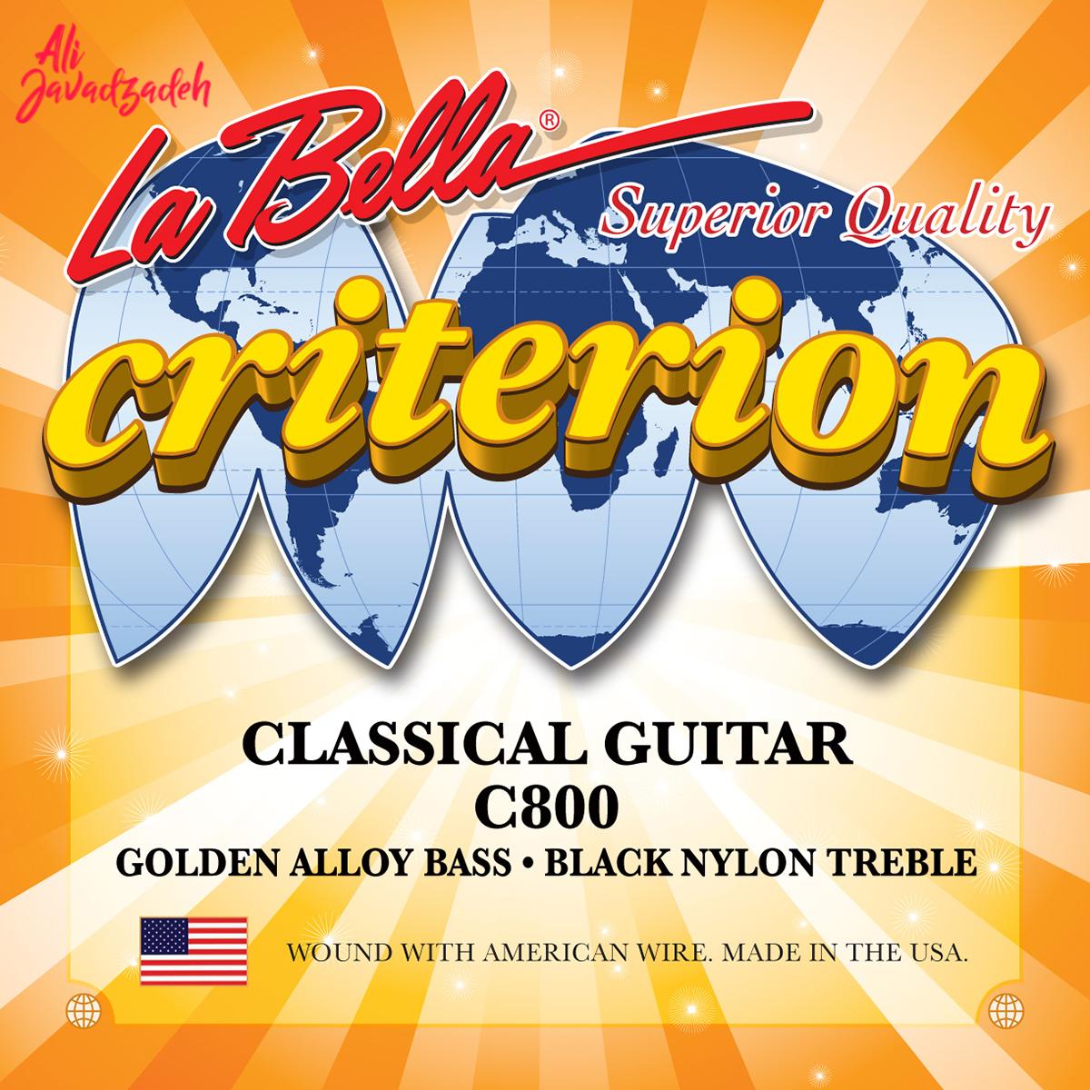 سیم گیتار کلاسیک لابلا مدل C800 Criterion