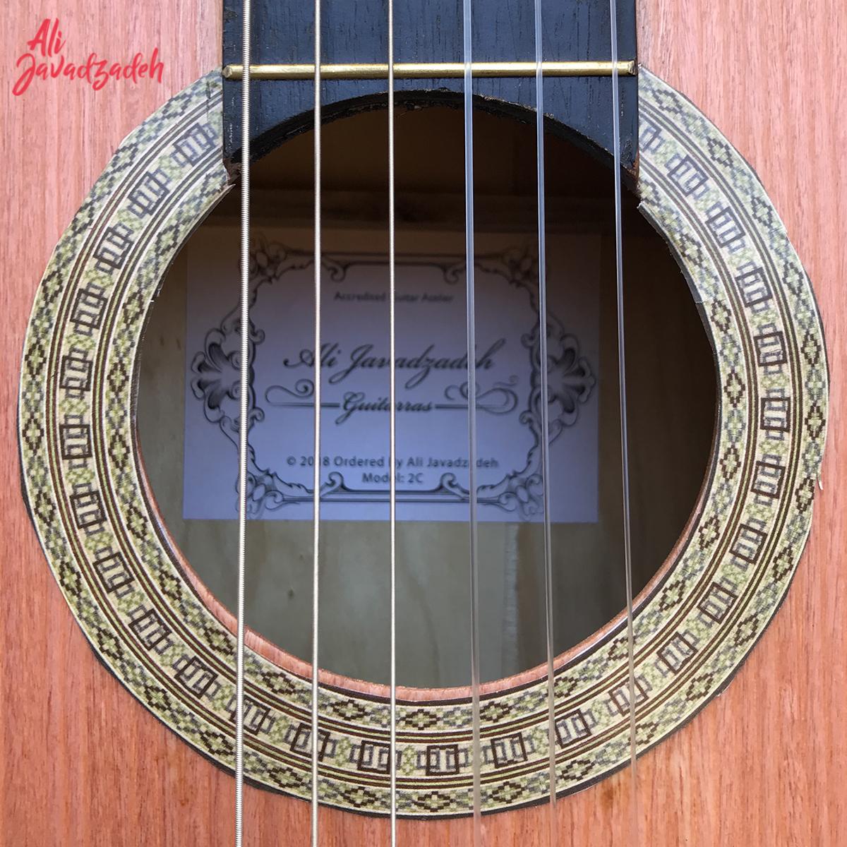 گیتار کلاسیک علی جوادزاده مدل 2C-1