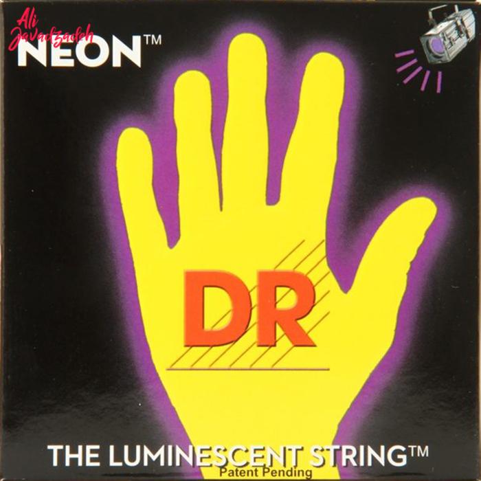 سیم گیتار الکتریک دی آر مدل Neon NYE-9/46