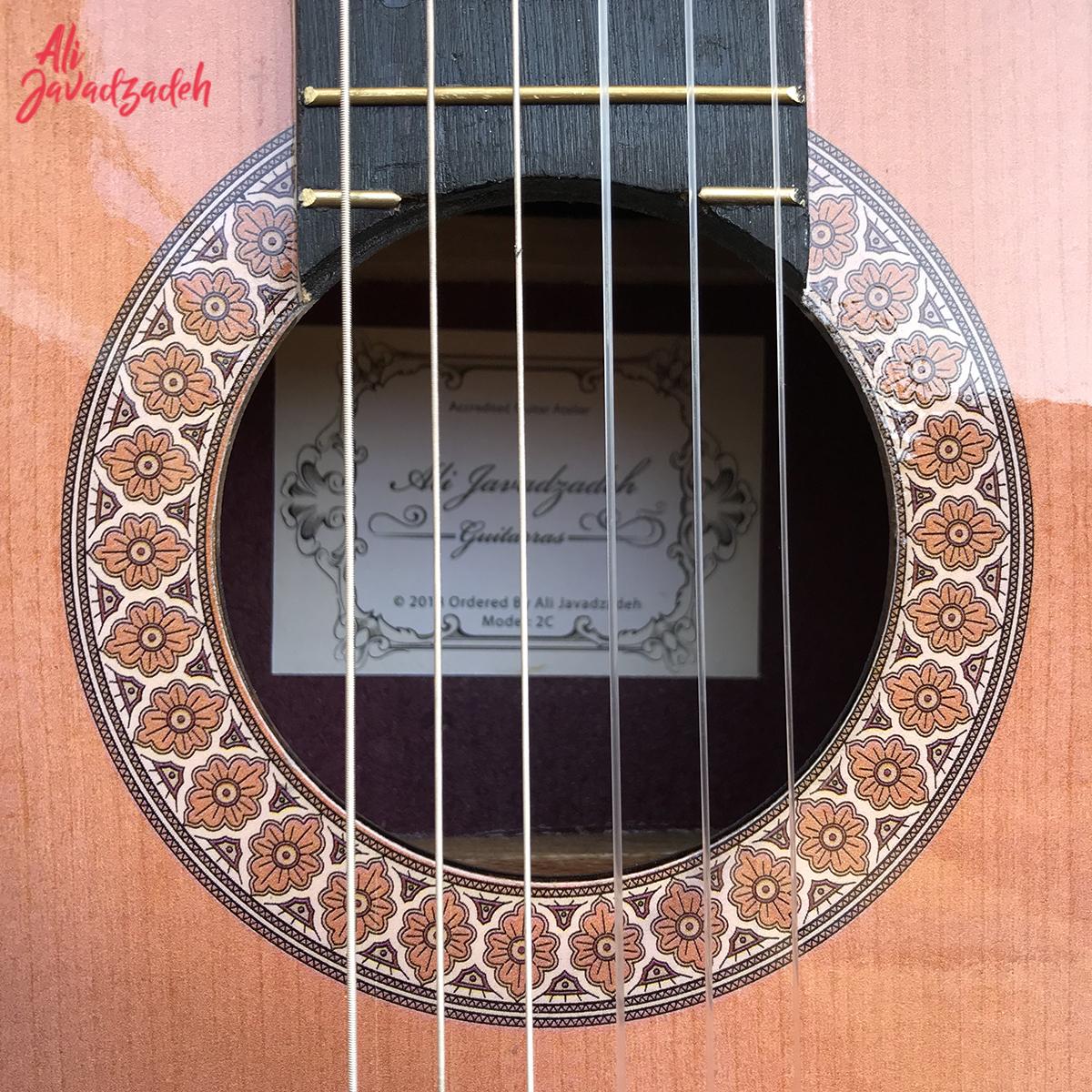 گیتار کلاسیک علی جوادزاده مدل 2C-4