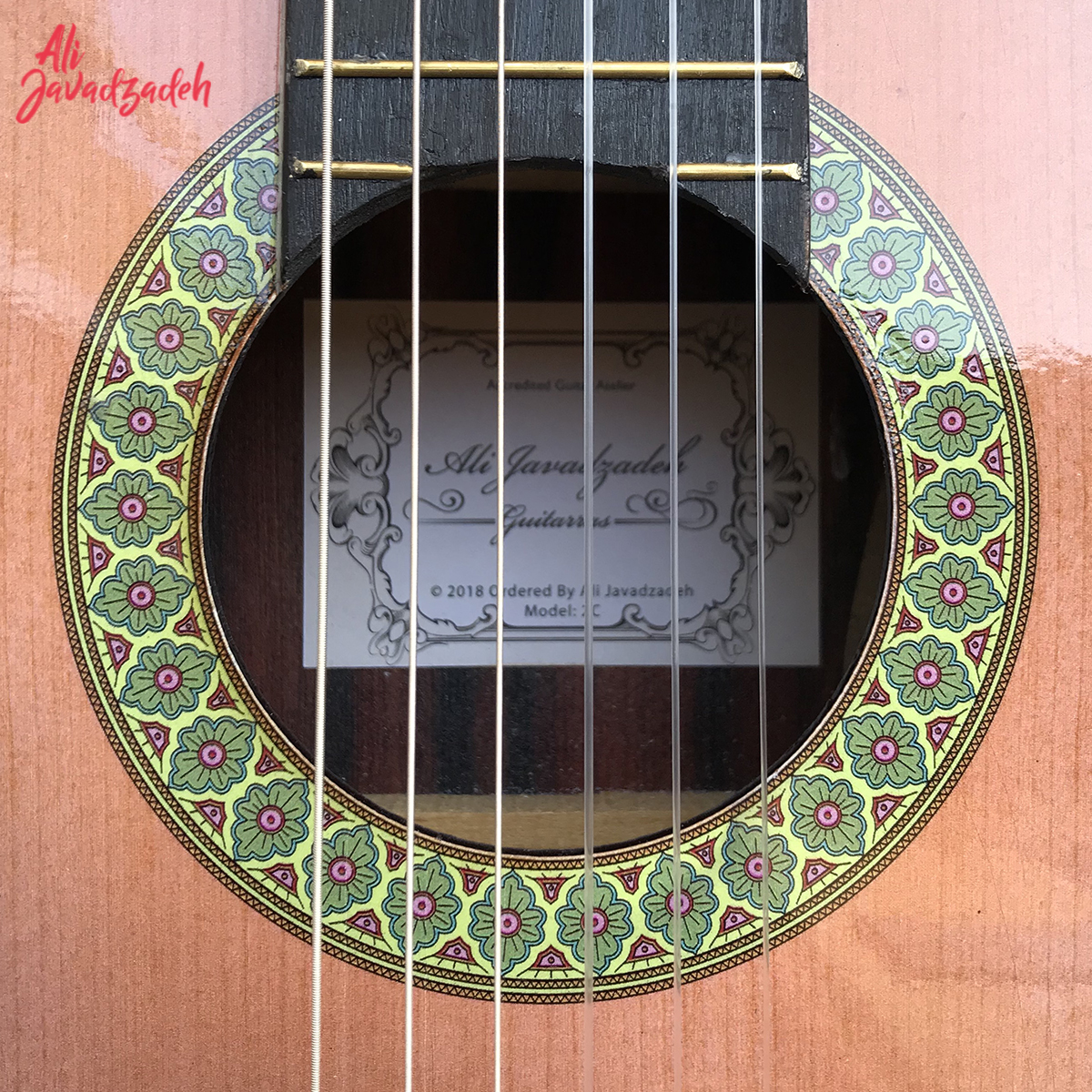 گیتار کلاسیک علی جوادزاده مدل 2C-6