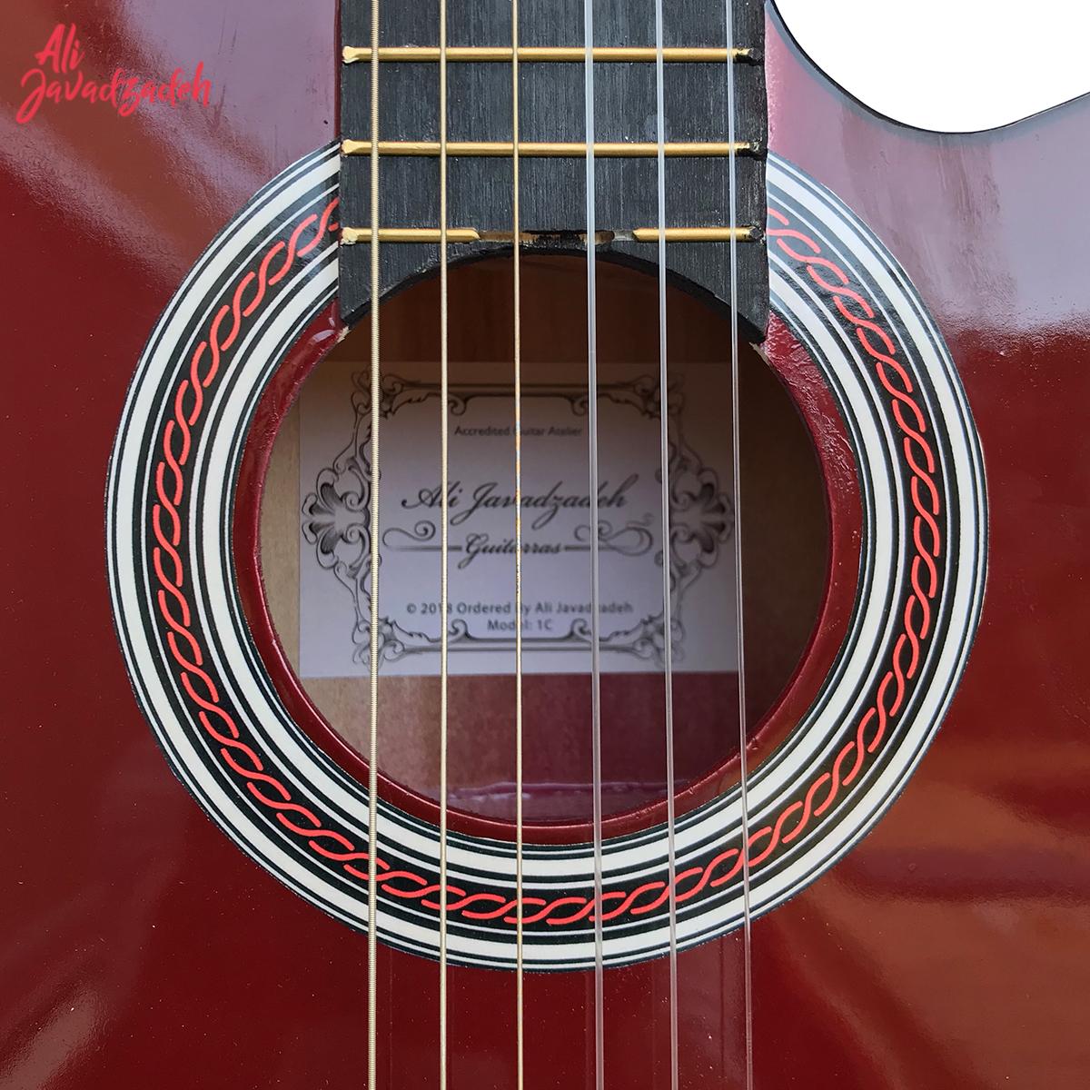 گیتار کلاسیک علی جوادزاده مدل 1C-20