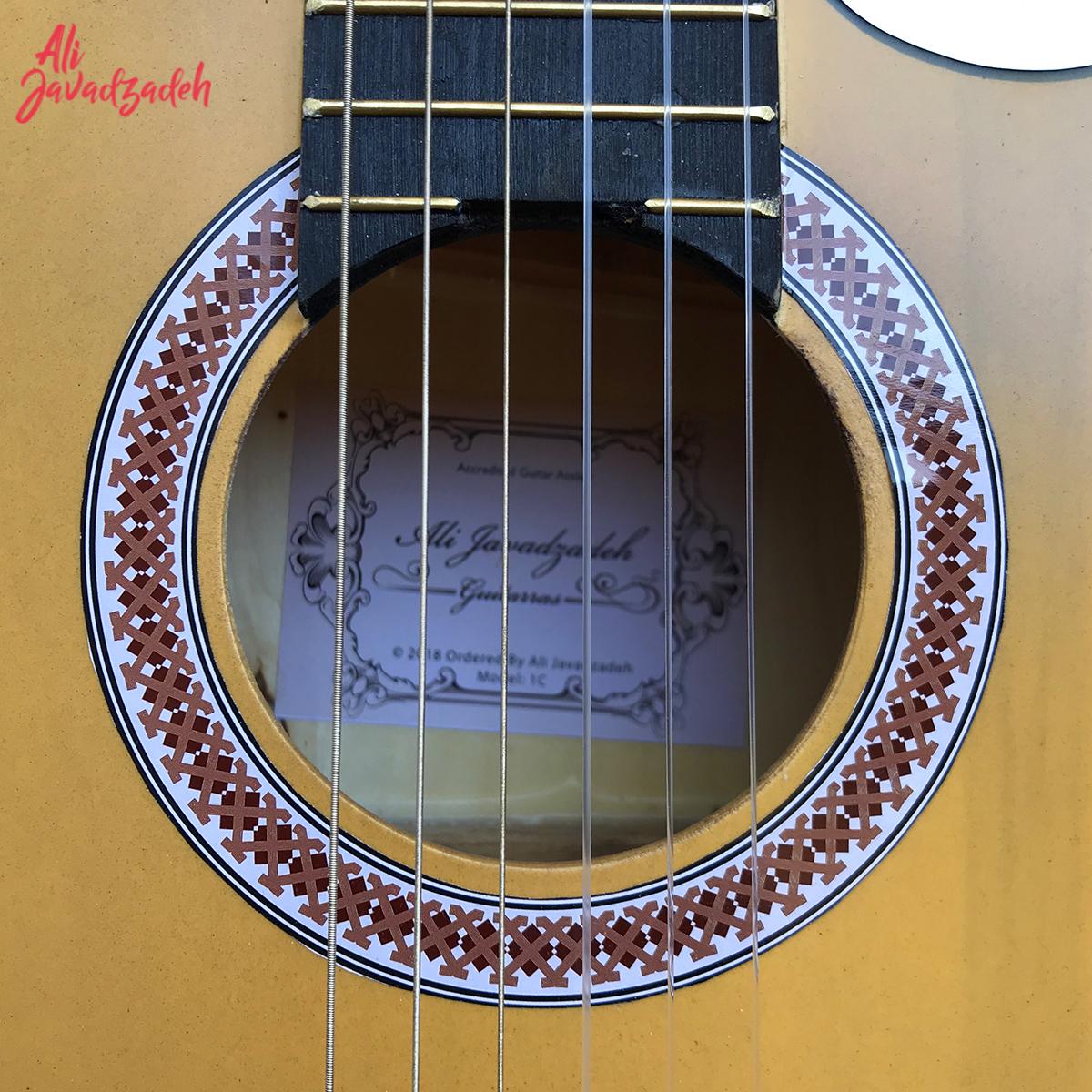 گیتار کلاسیک علی جوادزاده مدل 1C-24