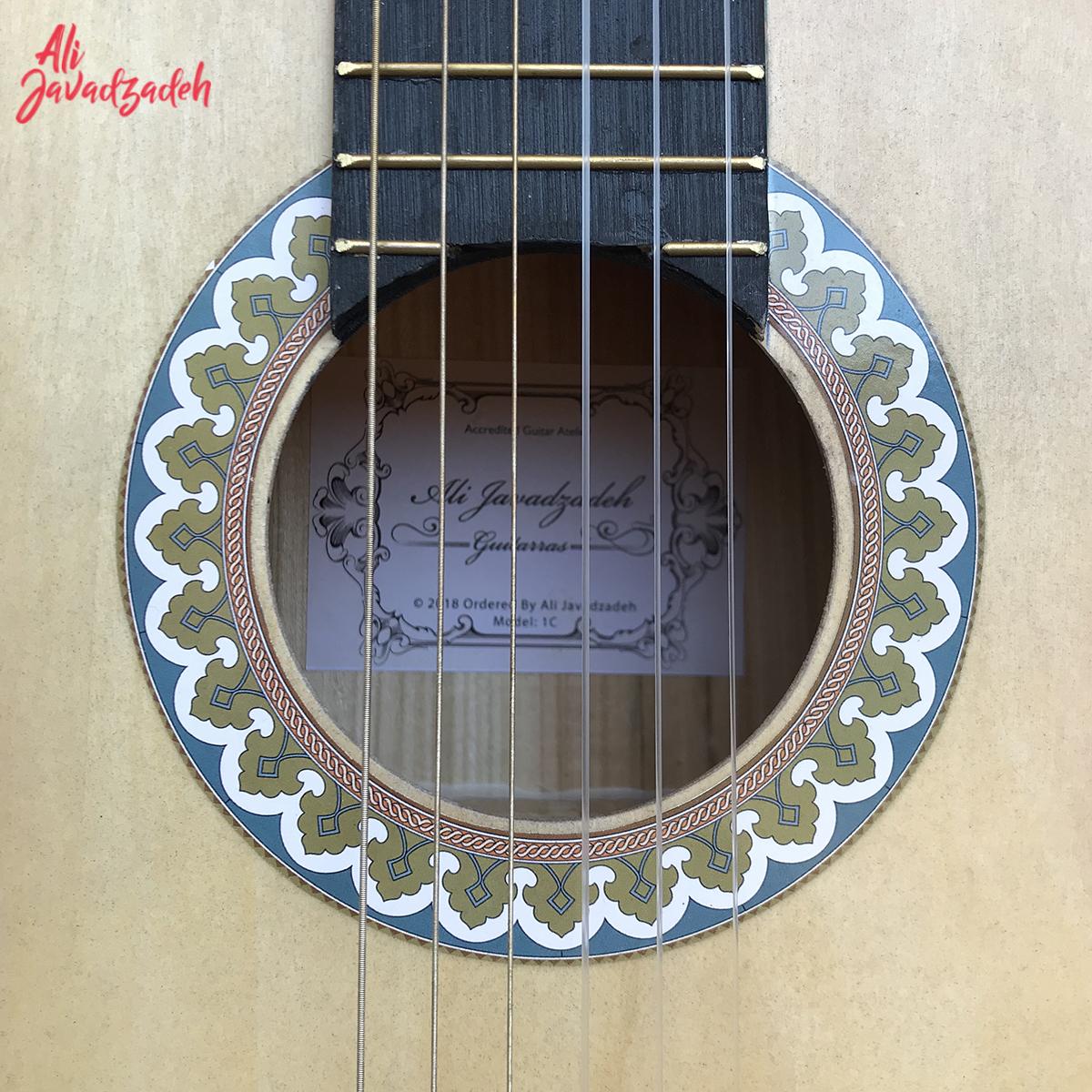 گیتار کلاسیک علی جوادزاده مدل 1C-26