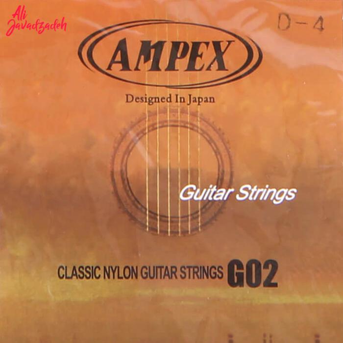 سیم تکی ر 4 گیتار کلاسیک امپکس مدل G02 RE-D-4