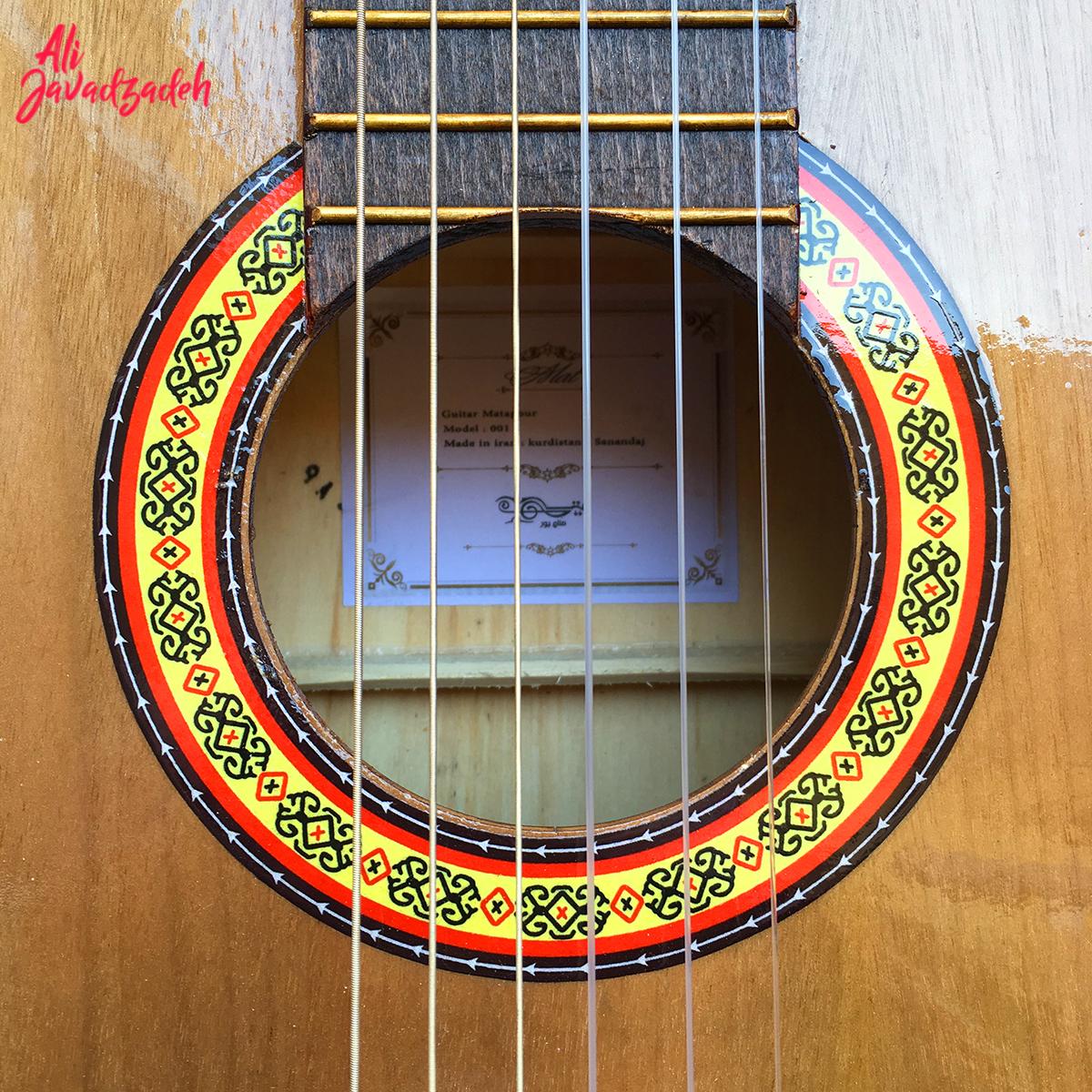 گیتار کلاسیک مت مدل 002