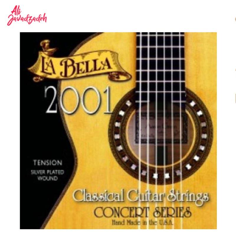 سیم گیتار لا بلا مدل 2001 Medium Tension