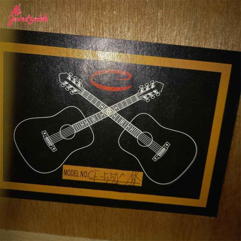 گیتار آکوستیک ای دست ساز مدل CF-55a (دست دوم)