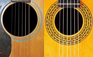 مهمترین فرق گیتار آکوستیک و کلاسیک
